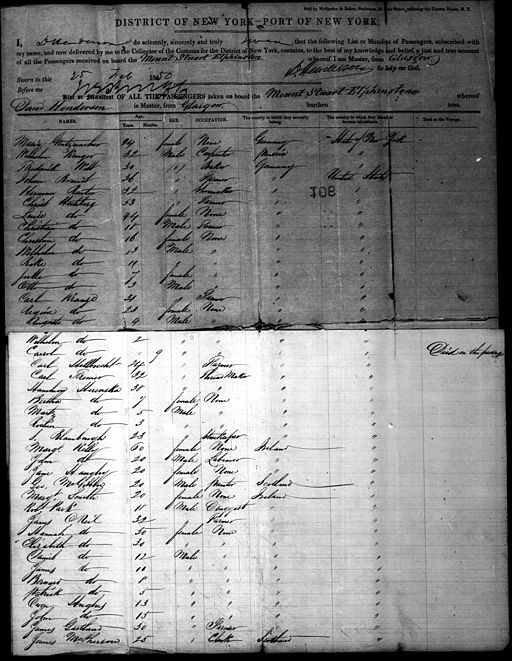 Using Passenger Lists to Find European Ancestors @ LaGrange Park Library | La Grange Park | Illinois | United States
