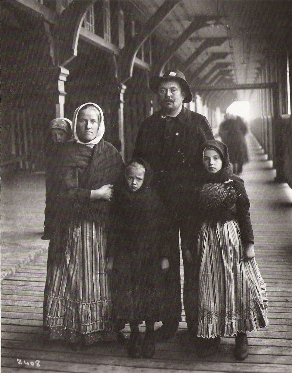 German immigrants, Quebec City, Canada, 1911