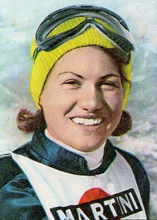 Gertrud Gabl Austrian alpine skier