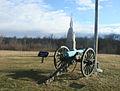 Gettysburg, Union artillery at Barlow knoll.jpg