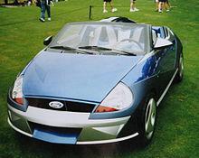 Ghia Saetta Show Car  Ford Ka Rear