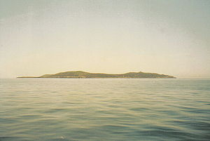 Giannutri - Giannutri island from sea