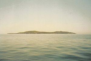 Giannutri island from the see - 2002.jpg
