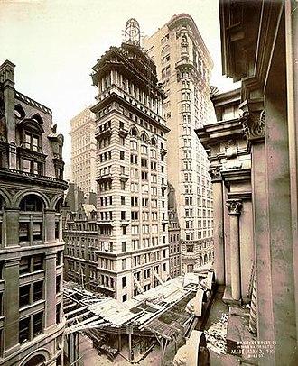 Gillender Building - Image: Gillender Building 1896d