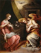 Giorgio Vasari - Annunciation - WGA24286