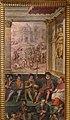 Giorgio vasari e aiuti, terza storia della notte di san bartolomeo, 1573, 02 il parlamento di Carlo IX approva l'uccisione del grande ammiraglio coligny.jpg