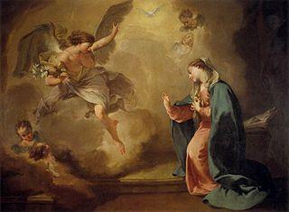 Annunciation (Pittoni)