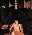 Giulia Pagano and Christopher Bernau in the Passion of Dracula, cropped.jpg