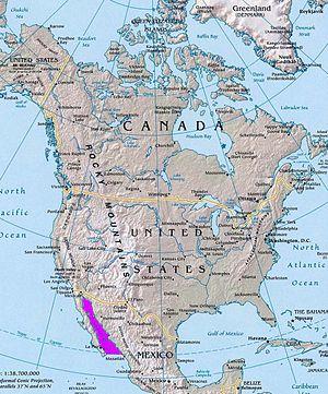 Kalifornien Karte Pdf.Golf Von Kalifornien Wikipedia