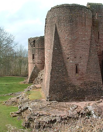 Goodrich, Herefordshire - South side of Goodrich Castle