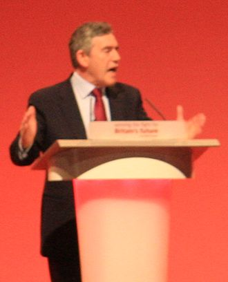Premiership of Gordon Brown - Brown at the Labour Party Conference 2008