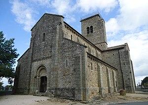 Gourdon, Saône-et-Loire - Image: Gourdon Eglise Romane