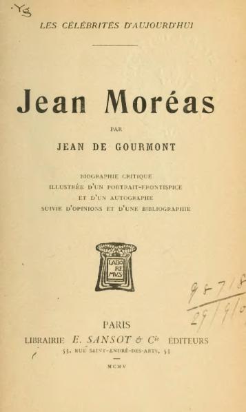 File:Gourmont - Jean Moréas, 1905.djvu