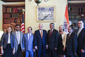 Governor Dayton Meets with Indian Ambassador Arun Kumar Singh (20300305321).jpg