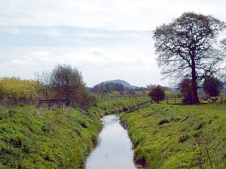 River Gowy - The River Gowy at Foulk Stapleford