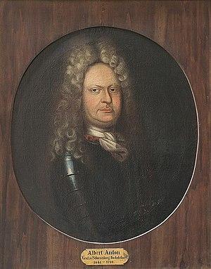 Albert Anton, Prince of Schwarzburg-Rudolstadt - Image: Graf Albert Anton von Schwarzburg Rudolstadt