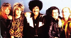 Mark Stanway, Laurence Archer, Phil Lynott, Doish Nagle, Robbie Brennan