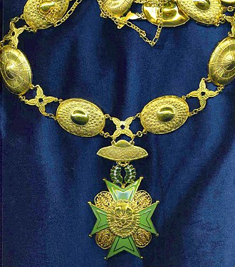 Order of the Golden Heart - Image: Grand collar order of the golden heart
