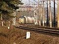 Granica Państwa na linii kolejowej Białystok-Grodno widok na Białoruś.jpg
