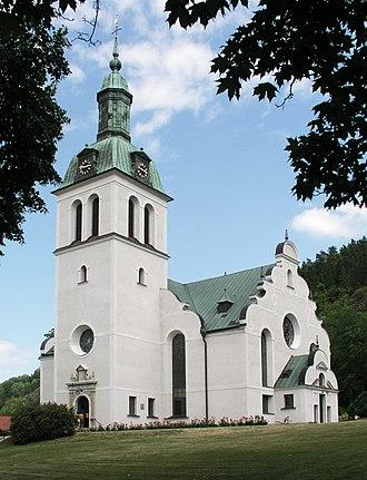 Gränna - Image: Granna kyrka View 01