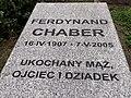 Grave of Ferdynand Chaber - 01.jpg