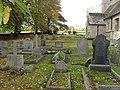 Gravestones in Hannington churchyard (2) - geograph.org.uk - 1592802.jpg
