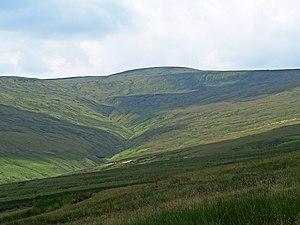 Great Shunner Fell - Great Shunner Fell from the north-east