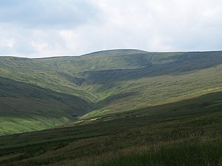 Great Shunner Fell mountain in United Kingdom