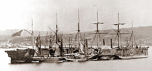SS Great Eastern - Image: Great Eastern 1866 crop