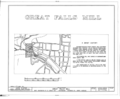 Great Falls Mill, West Washington and Broad Avenue, Rockingham, Richmond County, NC HABS NC,77-ROCHM,1- (sheet 1 of 8).png