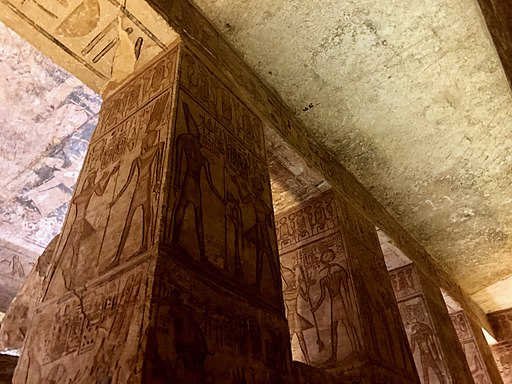 Great Hall, The Great Temple of Ramses II, Abu Simbel, AG, EGY (48017084147)