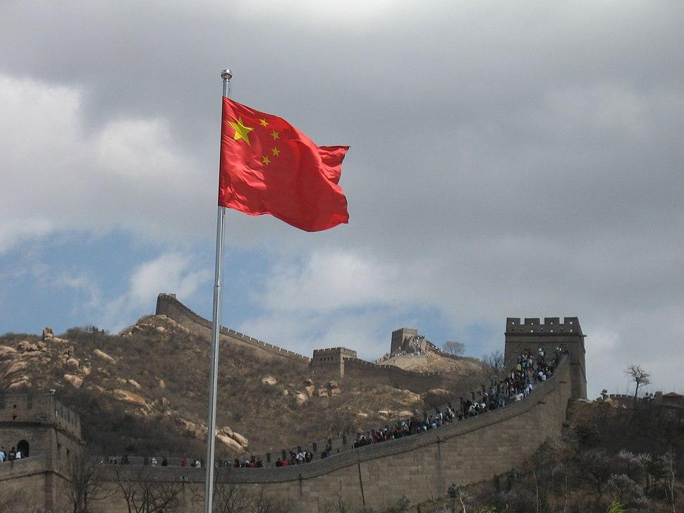 Great Wall of China may 2007