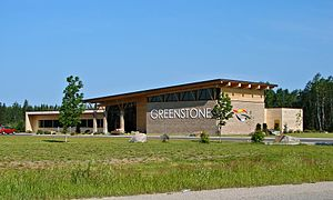 Greenstone, Ontario - Municipal office of Greenstone in Geraldton