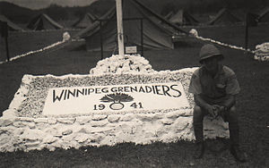 The Winnipeg Grenadiers - Winnipeg Grenadiers Camp