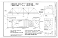 Griggs County Bridge Title Sheet- West Elevation, Plan, South Elevation - Griggs County Bridge, Spanning Sheyenne River at Route 2, Cooperstown, Griggs County, ND HAER ND,20-COTO.V,1- (sheet 1 of 2).png