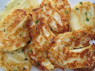 Halloumi - Grilled halloumi cheese
