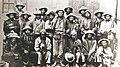 Grupo de campesinos liderados por Zárate Willka, que participó de la Guerra Federal de 1899.jpg