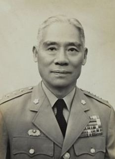 Gu Zhutong Chinese general, administrator