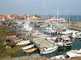 Village in Capital, Denmark