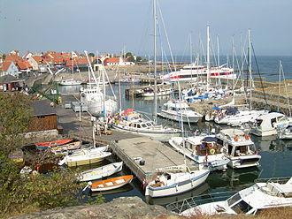 Gudhjem - Gudhjem harbour
