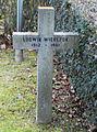 GuentherZ 2013-01-12 0398 Wien11 Zentralfriedhof Gruppe88 Soldatenfriedhof polnisch WK2 Grabkreuz Ludwik Wierczok.JPG