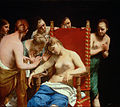 Guido Cagnacci, called Guido Canlassi - The Death of Cleopatra - Google Art Project.jpg
