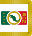 Guidon of the Mexican Secretariat of National Defense (2000).png