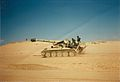 Gun 1, Battery A, 2-142nd Field Artillery, Operation Desert Storm.jpg