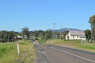 Gundy Suburb of Upper Hunter Shire, New South Wales, Australia