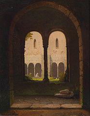 View through a Cloister