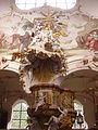 Gutenzell Kloster Gutenzell St. Kosmas & Damian Innen Kanzel 2.jpg