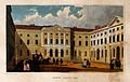 Guy's Hospital, Southwark. Coloured engraving by J. Rogers a Wellcome V0013704.jpg