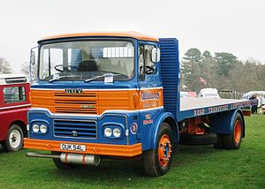 Flatbed truck - British 1972 Guy Big J4 flatbed