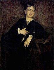 Portrait of Bertalan Karlovszky